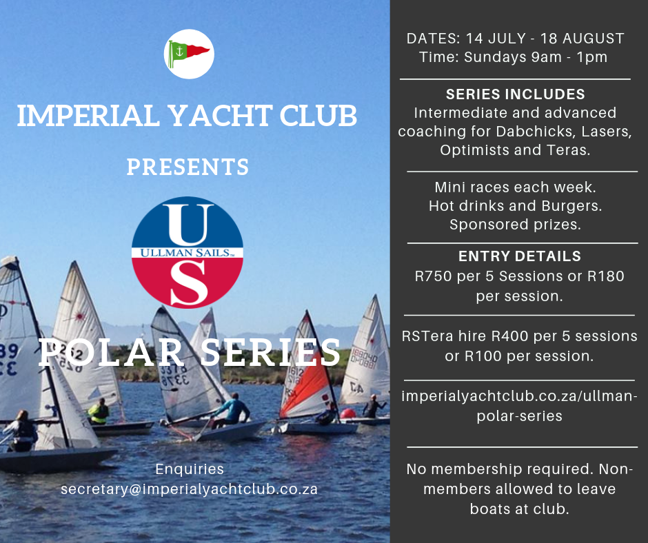 The Ullman Polar Series poster providing details of the event.